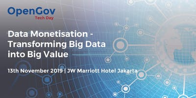 Data Monetisation - Transforming Big Data into Big Value