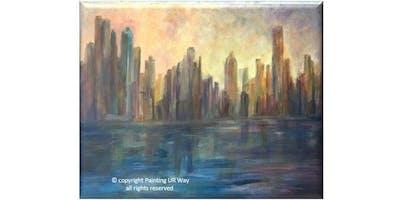 CityScape - Paint & Sip