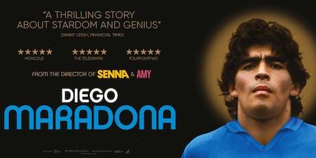 Diego Maradona - Mon 30th September - Newtown, Sydney tickets