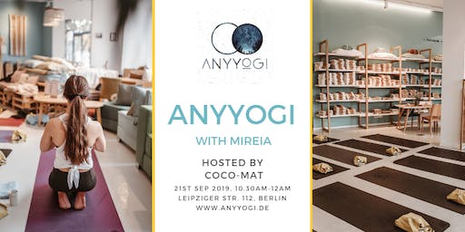 Special Anyyogi Event with Mireia