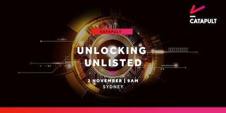 Unlocking Unlisted - Sydney  tickets