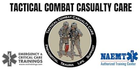 TCCC Tactical Combat Casualty Care entradas