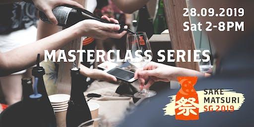 Sake Matsuri Singapore 2019: Demystifying Namazake Masterclass
