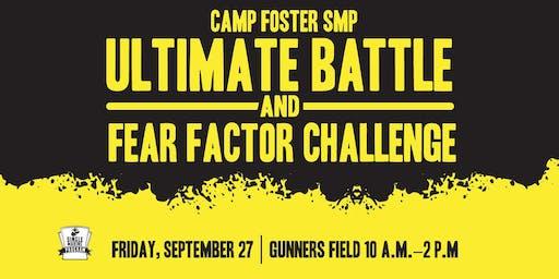 Ultimate Battle & Fear Factor Pre-Staging