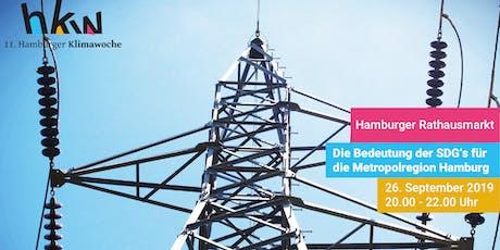 Die Bedeutung der SDGs für die Metropolregion Hamburg – Schwerpunkt Energie Tickets