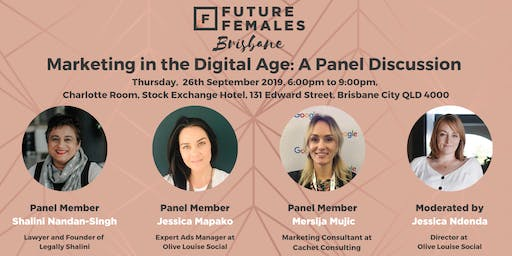 Marketing in the Digital Age: A Panel Discussion