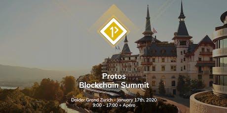 Protos Blockchain Summit - January 2020 tickets
