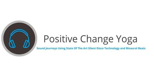 Sound Journey-Positive Change Yoga-Using state of the art silent disco tech