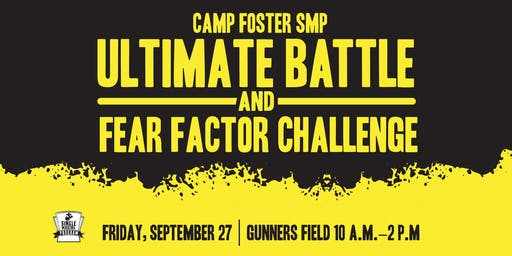Ultimate Battle & Fear Factor Challenge Event Volunteer