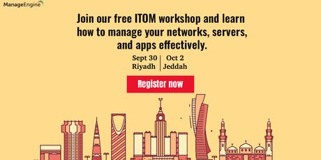 IT Operations Management workshop-Riyadh tickets