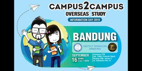 CAMPUS2CAMPUS_OVERSEAS  STUDY_Information Day 2019 tickets