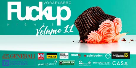 FuckUp Nights Vorarlberg // VOL. XI Tickets
