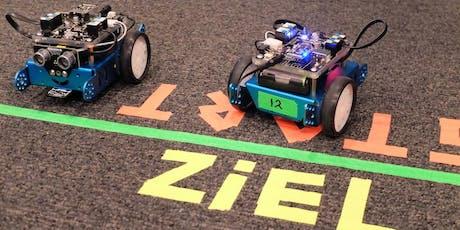 FerienAKTIONSTAG: Roboter bauen und programmieren Tickets