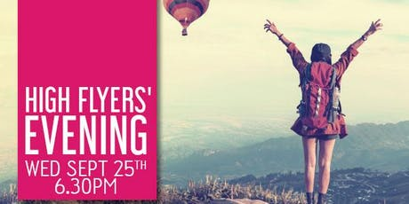High Flyers' Evening Wednesday Sept 25th 2019 tickets