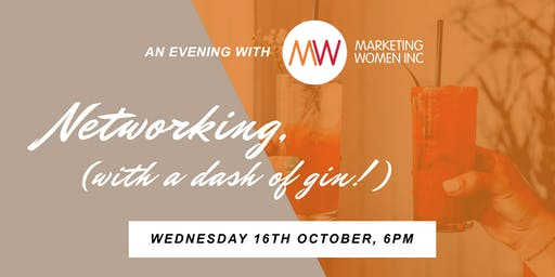 An evening with MWI: Networking (with a dash of gin)