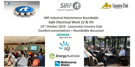 SIRF Roundtables VICTAS Events | Eventbrite