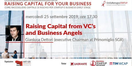 Raising Capital for your Business Chap I: Raising Capital from VC's and Business Angels biglietti