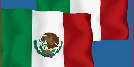 Incontro con delegazione economico-istituzionale messicana, 20 settembre biglietti