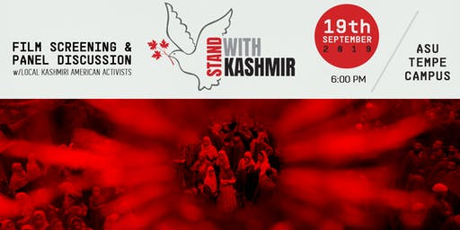 #StandWithKashmir: Film Screening & Panel Discussion