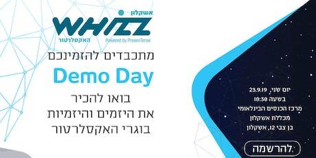 Demo Day- Whizz tickets