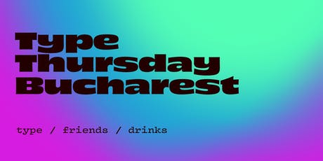 TypeThursday BUC ☛ September tickets