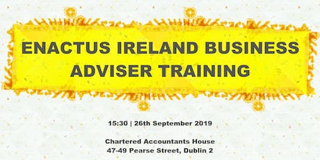 Enactus Ireland Business Adviser Training  tickets