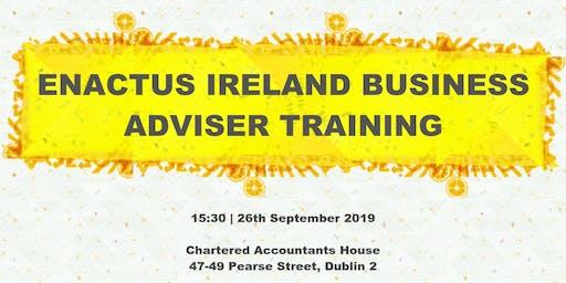Enactus Ireland Business Adviser Training