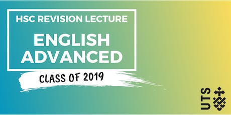 English Advanced - HSC Revision Lecture (UTS) tickets