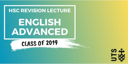 English Advanced - HSC Revision Lecture (UTS)
