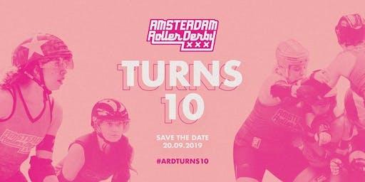 Amsterdam Roller Derby Turns 10