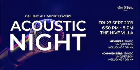Acoustic Night! tickets
