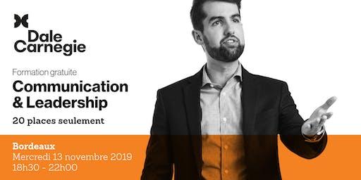 Communication & Leadership - Soirée de formation gratuite à Bordeaux