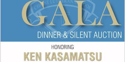 "CLS ""CITIZEN OF THE YEAR"" AWARD GALA Honoring Ken Kasamatsu, Dinner and Silent Auciton"