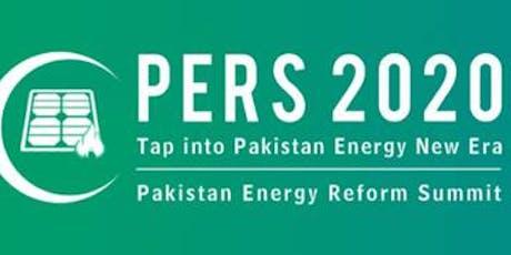 Pakistan Energy Reform Summit 2020 tickets