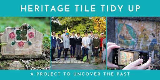 Heritage Tile Tidy: Thursday 26 September 2019