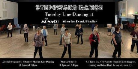 Step4ward Line Dancing tickets