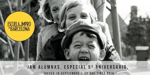 JAM IMPRO ALUMNXS ESCUELA, JUEVES 19 DE SEPTIEMBRE DE 20:00 A 22:00