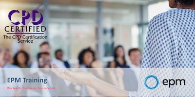 EPM Training - Equality & Diversity (Peterborough)