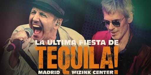 TEQUILA EN MADRID – WIZINK CENTER: LA ÚLTIMA FIESTA DE TEQUILA!