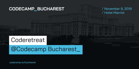 Coderetreat @Codecamp Bucharest, 9 November 2019 tickets