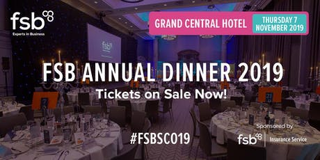 FSB Scotland Annual Dinner 2019 tickets