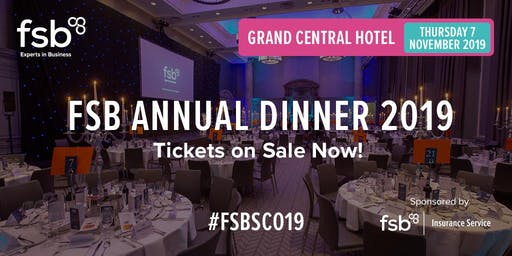 FSB Scotland Annual Dinner 2019