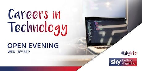 SBG Technology Careers Open Evening tickets