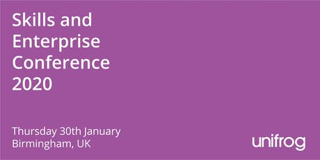 Skills and Enterprise Conference 2020 tickets