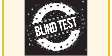 """Soirée """"Blind test"""" billets"""