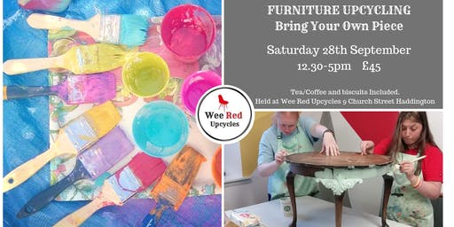 Furniture Upcycling Workshop- Bring Your Own Piece