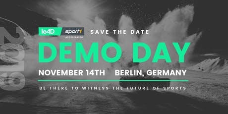 leAD SPORT1 Accelerator Demo Day 2019  tickets