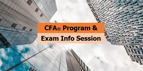 Why YOU Should Take the CFA® Program  - What it Takes? tickets