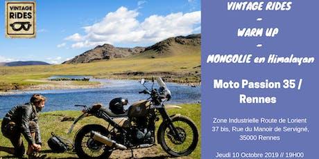 Warm up Rennes : Mongolie en RE Himalayan X Vintage Rides billets