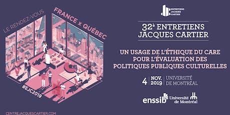 UN USAGE DE L'ÉTHIQUE DU CARE POUR ÉVALUER POLITIQUES PUBLIQUES CULTURELLES billets
